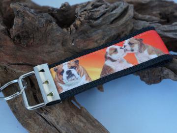 Schlüsselband Engl. Bulldogge L