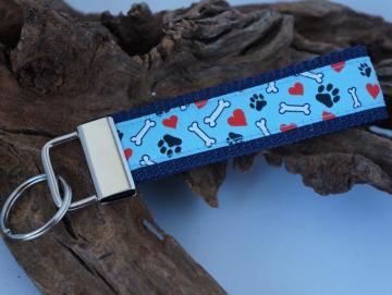 Schlüsselband Best Buddy Hundeliebe2 M