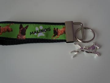Schlüsselband mit Malinois