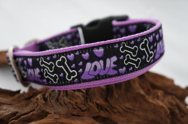 Halsband Big Love violett