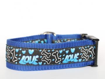 Halsband Big Love Blau