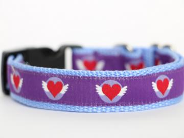 Halsband Flying Hearts